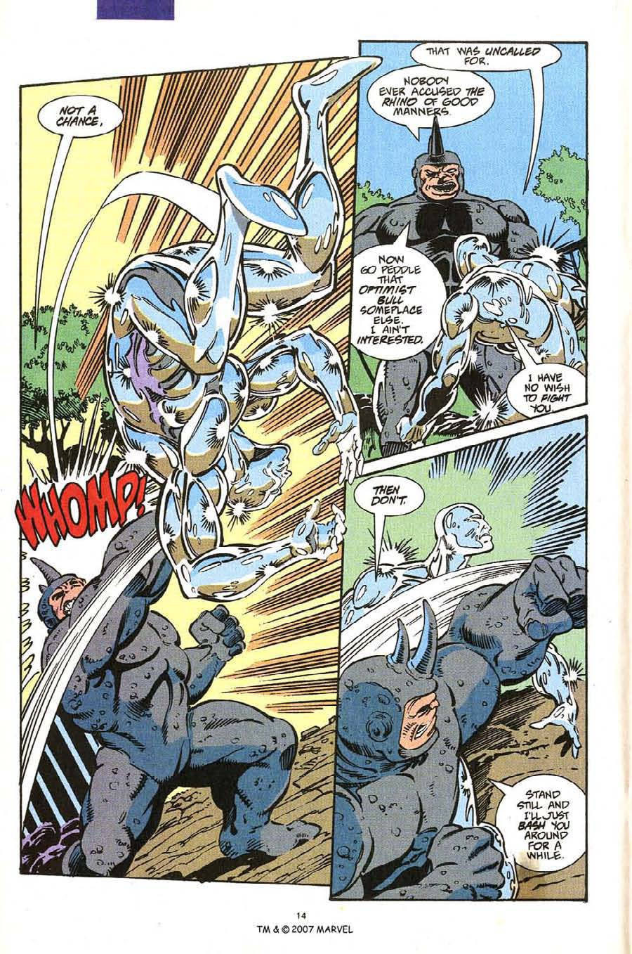 Read online Silver Surfer (1987) comic -  Issue #54 - 16