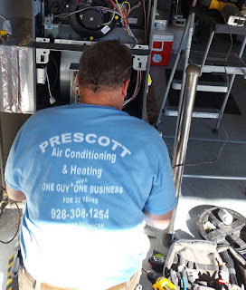 Fix that old furnace in Prescott instead of replacing it - info from Prescott Air Conditioning and Heating Repair