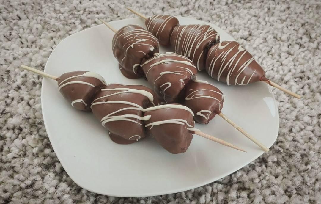 Schoko Erdbeeren Lauralys Küche
