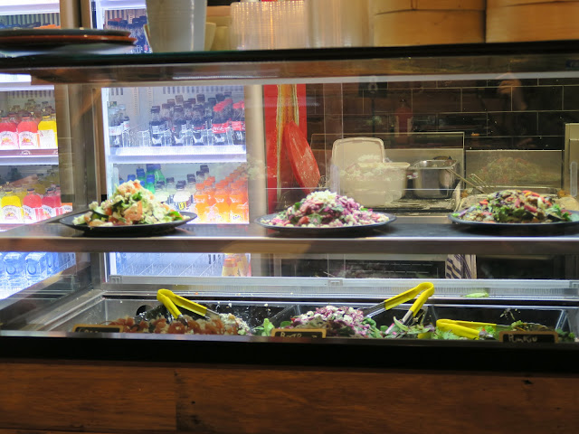 salad bar, St Kilda's beach, Melbourne