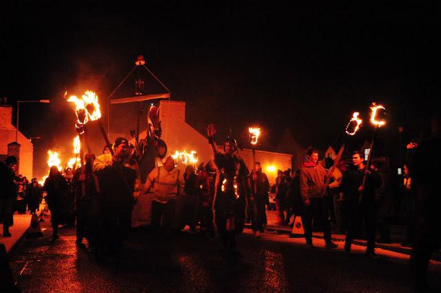 Scalloway Fire Festival
