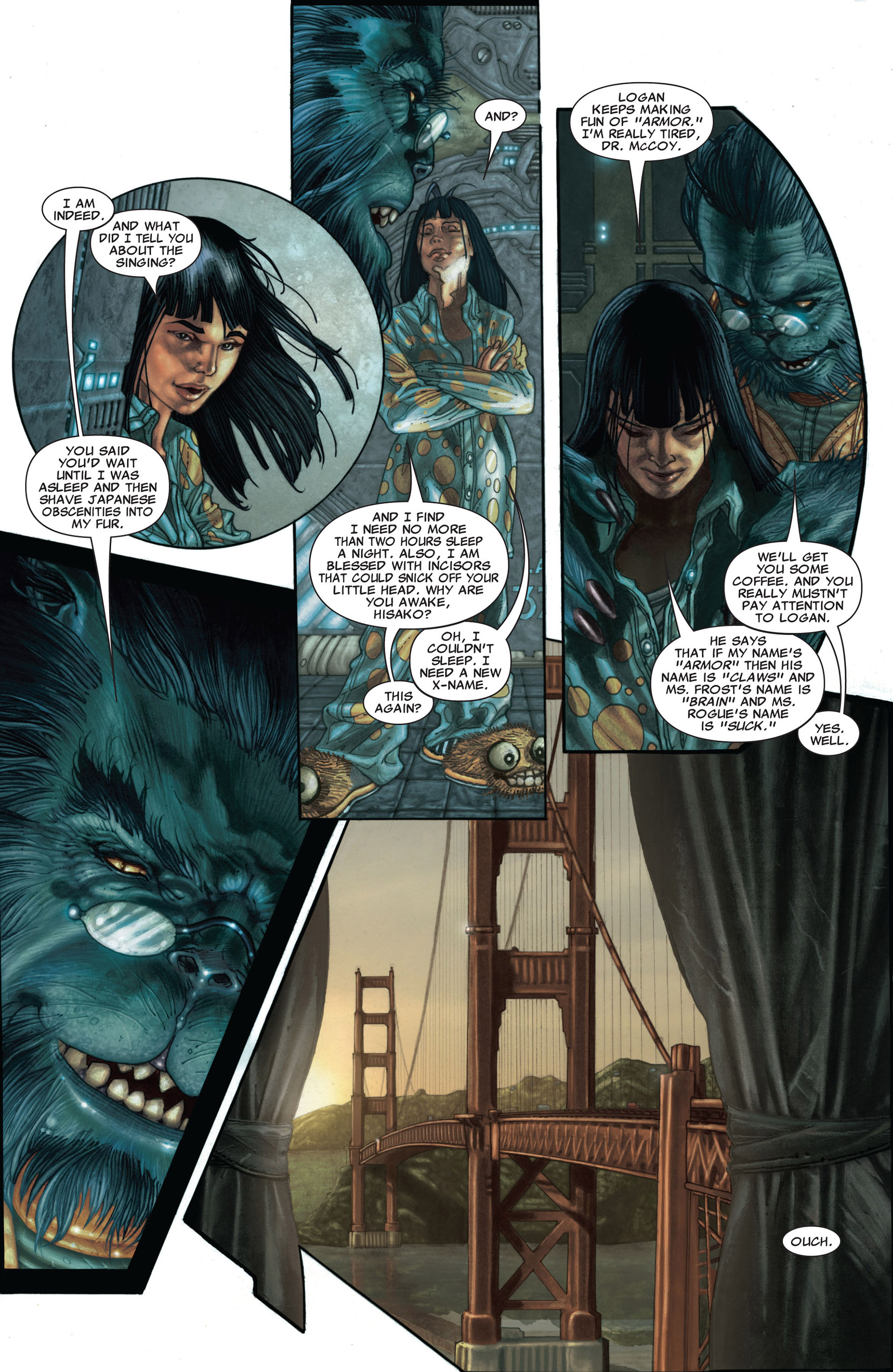 Read online Astonishing X-Men (2004) comic -  Issue #25 - 5