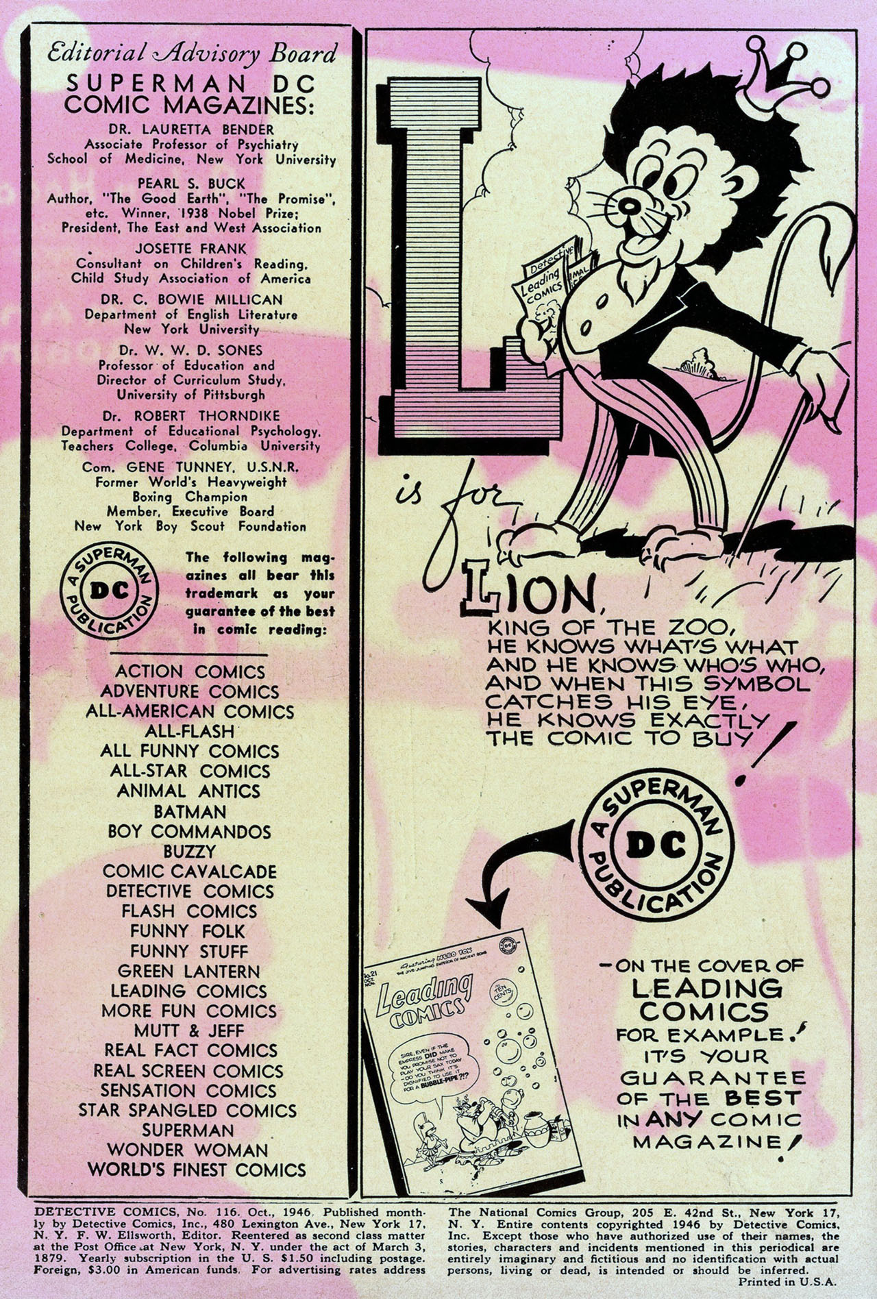 Read online Detective Comics (1937) comic -  Issue #116 - 2