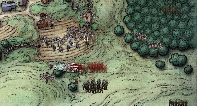 Carla blasts Orcs preparing to Invade Phandalin
