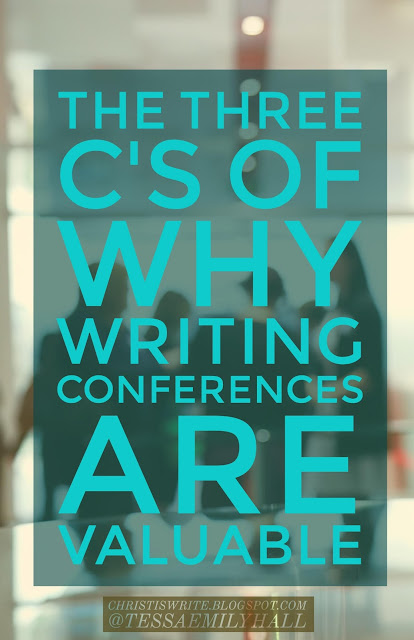 The Three C's of Why Writing Conferences Are Valuable