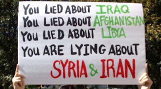 syria war america trump united states lies