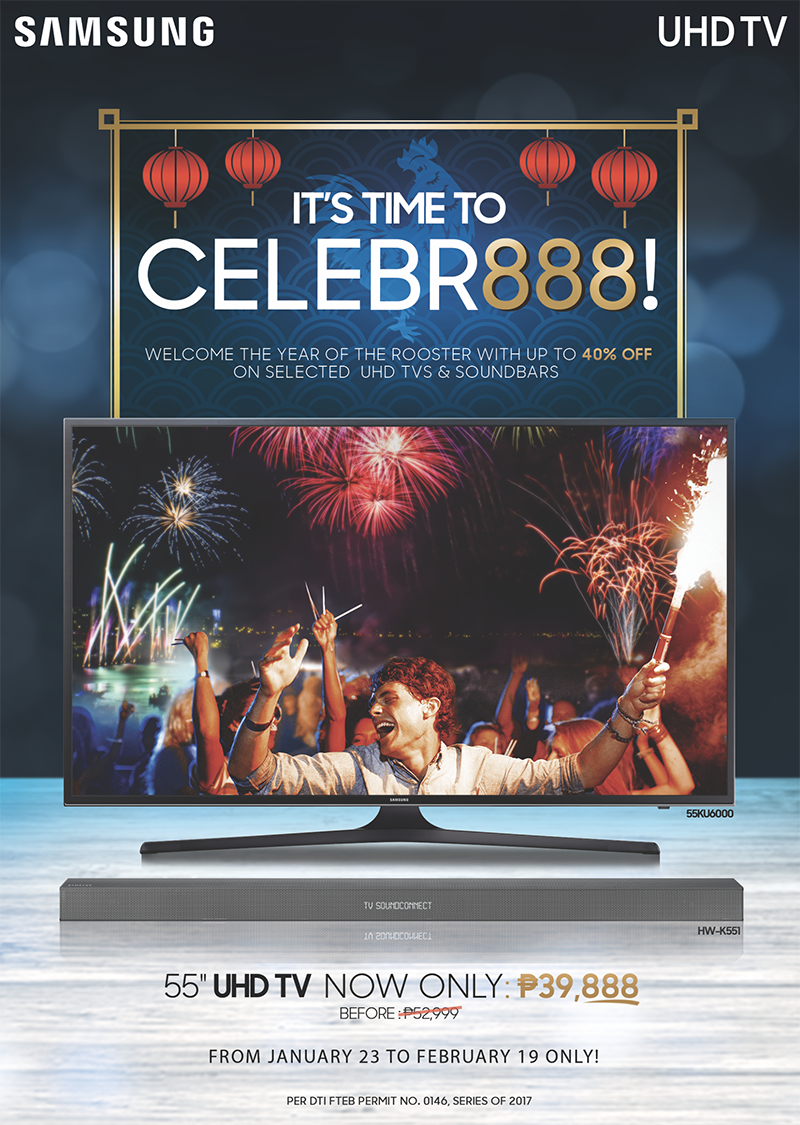 Samsung Celebr888 Promo Gives Up To 21K Off On Select UHD TVs