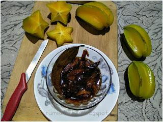 Starfruit Chutney (Kordoi Chutney)