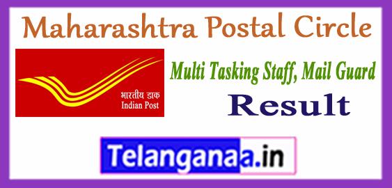 Maharashtra Postal MTS Multi Tasking Staff Mail Guard Result 2017