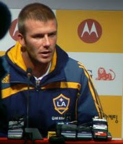 Beckham to LA Galaxy.