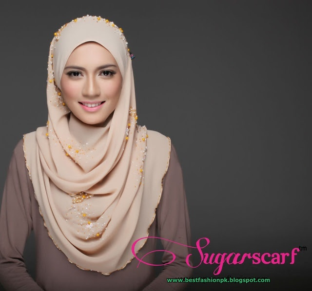 Hijab Styles for Everyone www.bestfashionpk.blogspot.com