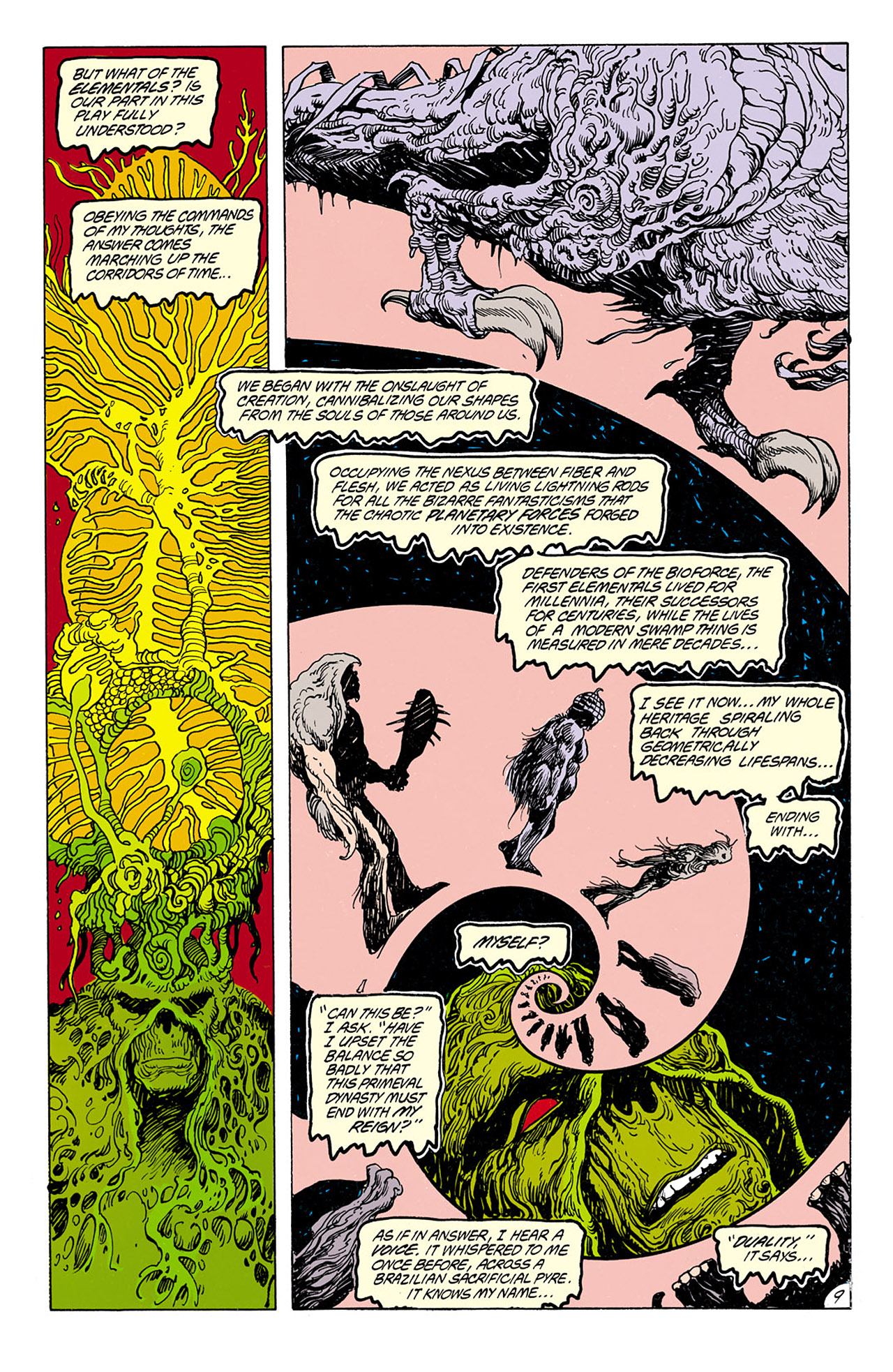 Swamp Thing (1982) Issue #75 #83 - English 10