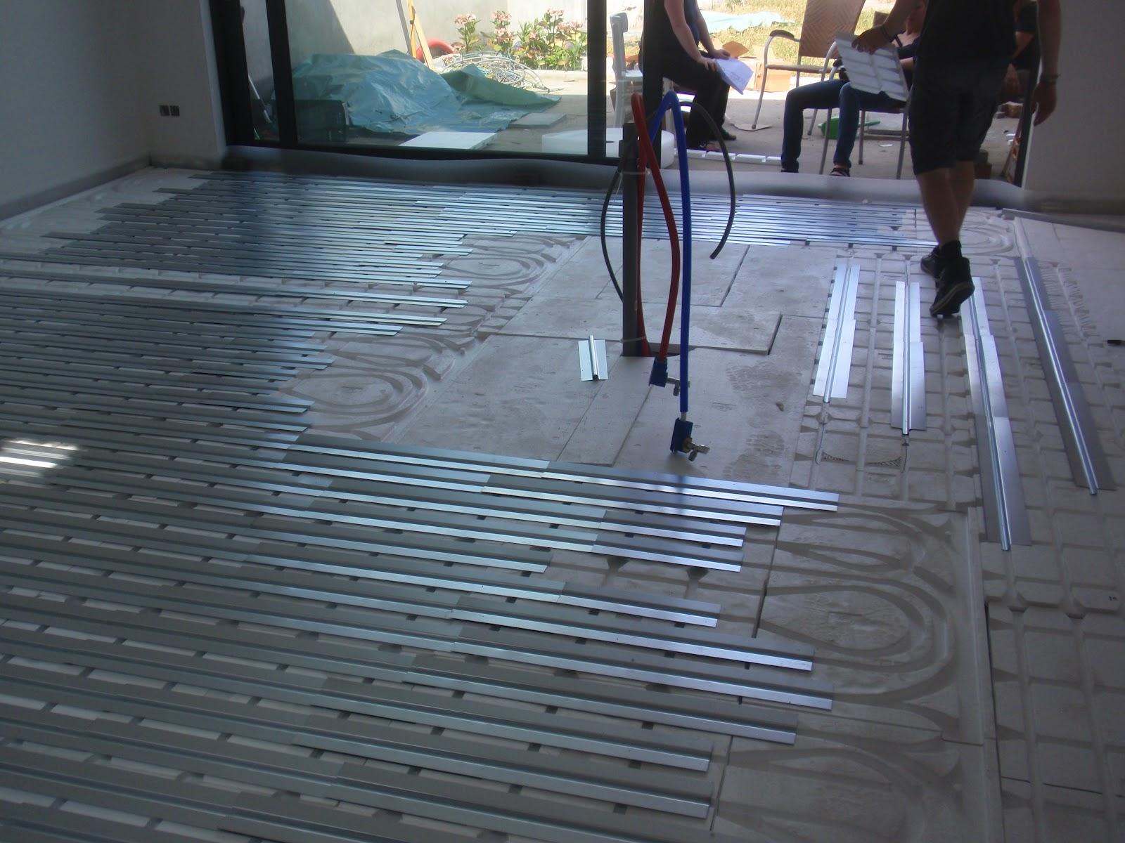 Verbouwing Vloerverwarming Plaatsen