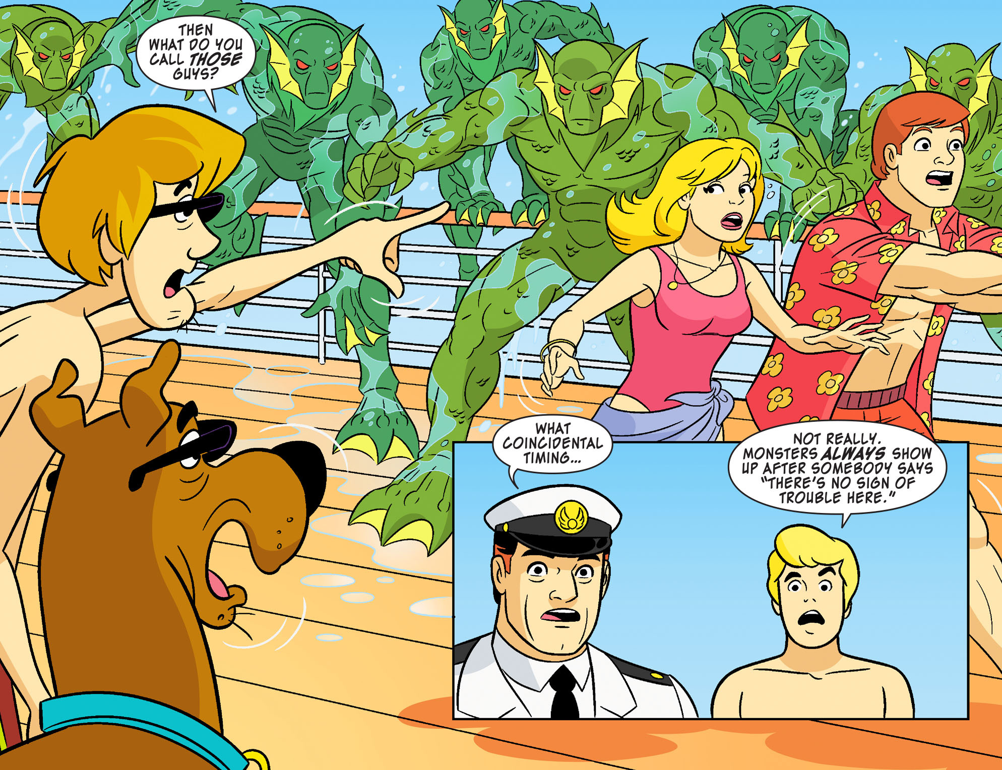 Read online Scooby-Doo! Team-Up comic -  Issue #27 - 5