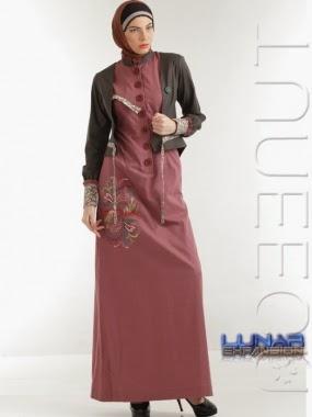 Desain Baju Muslim Blazer Wanita 2016