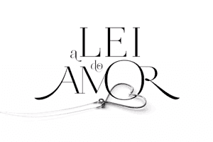 """Logo de """"A Lei do Amor"""""""