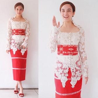Model Baju Kebaya Modern Ala Chelsea Islan