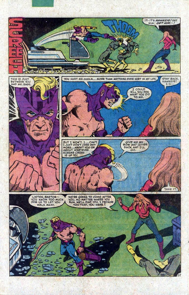 Hawkeye (1983) Issue #1 #1 - English 23