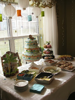 Baby Sprinkle Ideas- www.thecreativeconfectionista.com