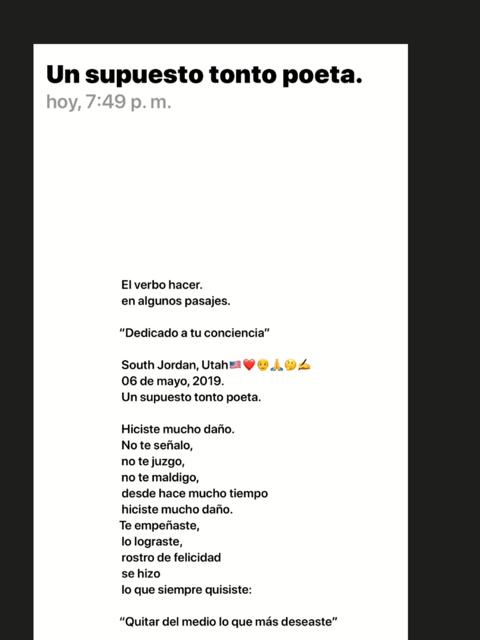 Un Poeta Venezolano Un Supuesto Tonto Poetasouth Jordan