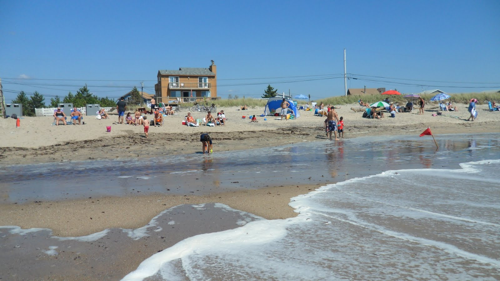 Charlestown Town Beach Or What S Left Of It At High Tide Morning September 2