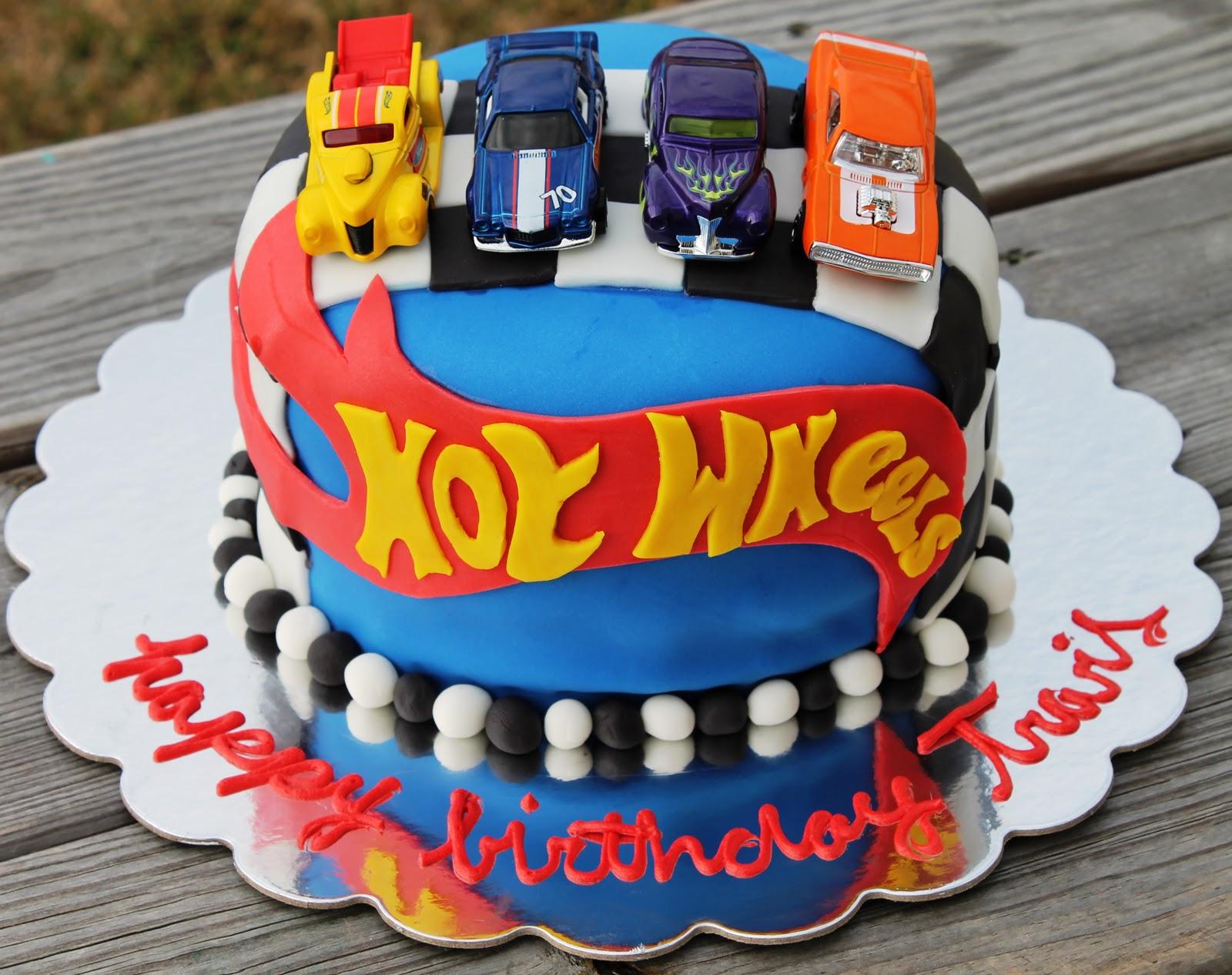 Hot Wheel Cake Pops