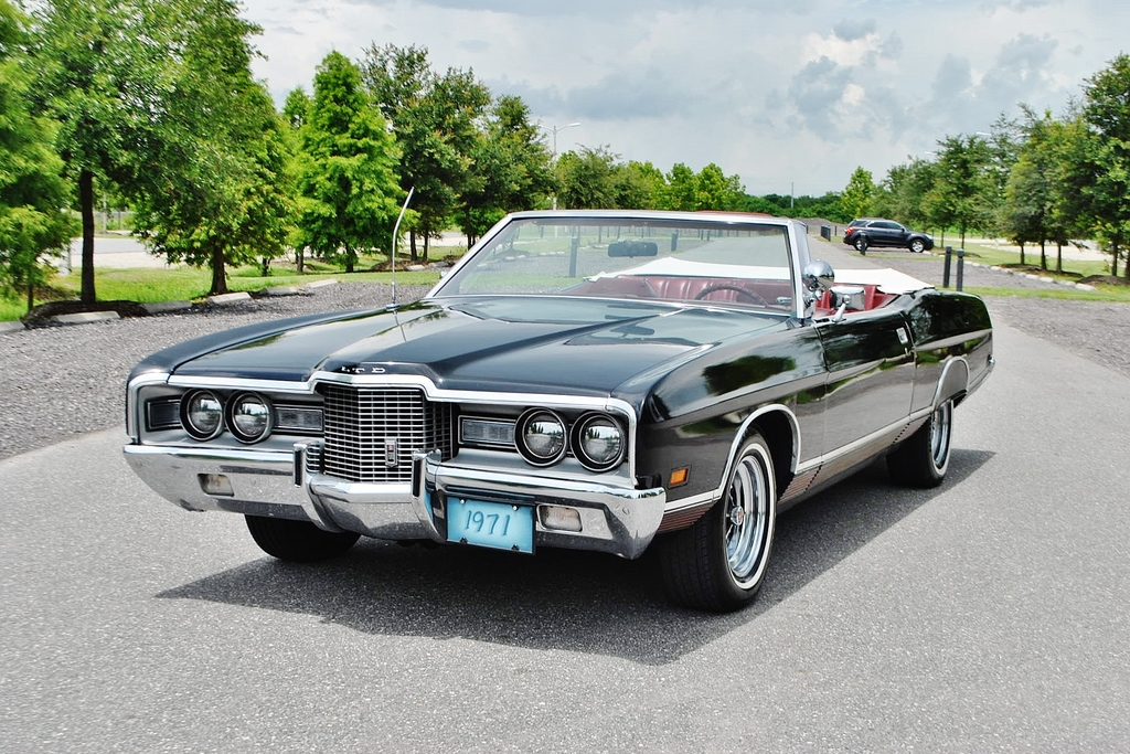 All American Classic Cars: 1971 Ford LTD 2-Door Convertible