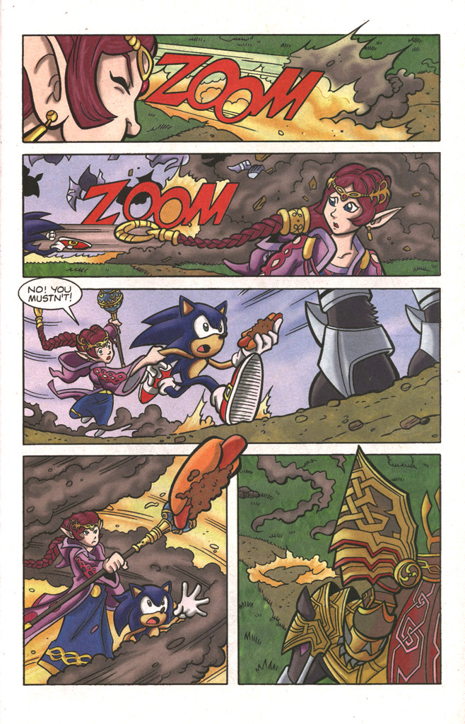 Read online Sonic The Hedgehog comic -  Issue #197 - 31