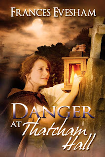 Book Cover: Danger at Thatcham Hall by Frances Evesham