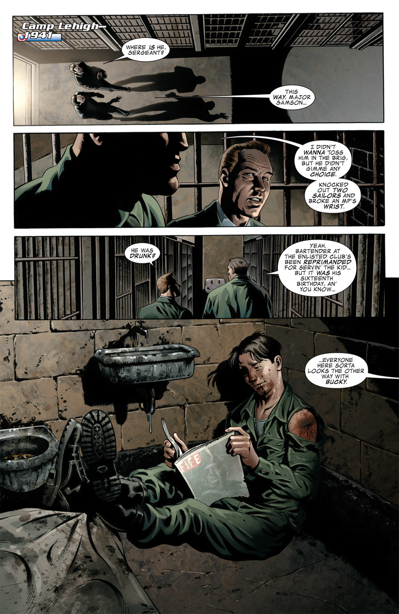 Read online Captain America (2005) comic -  Issue #50 - 6