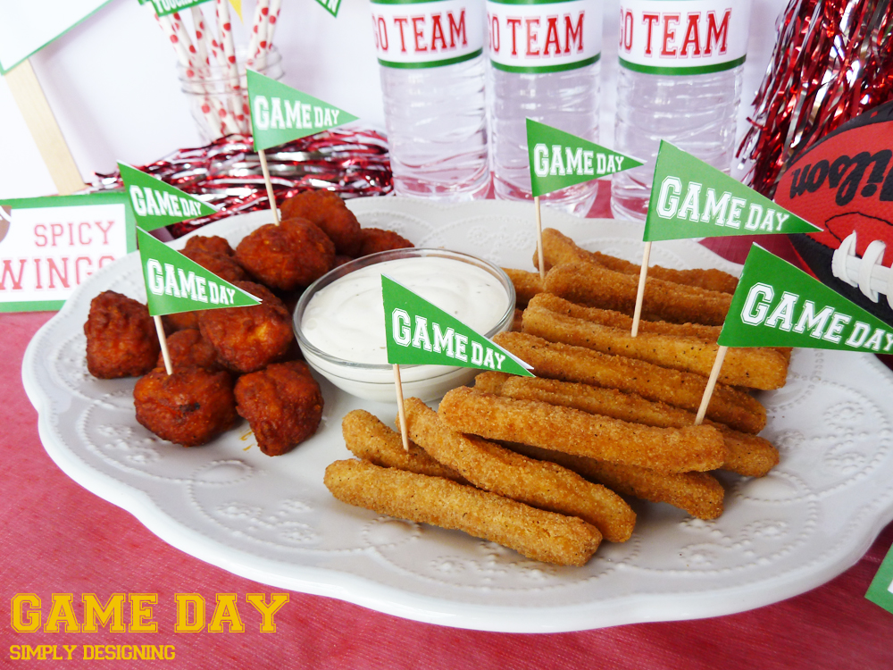 #ad Game Day Snacks + FREE Printable | #SuperMoments, #cbias #printable #gameday