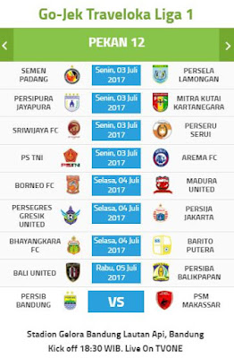 Laga Persib Bandung vs PSM Makassar Diundur, Jadwal Lain Juga Berubah