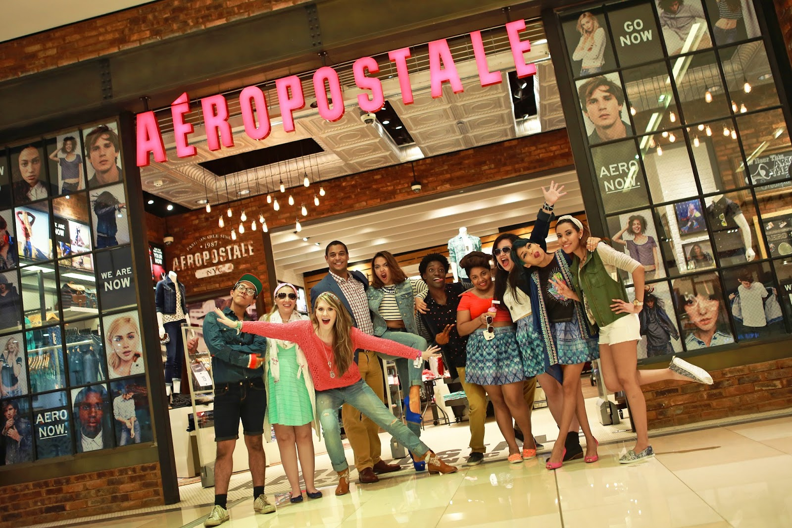 Aéropostale Bloggers Night