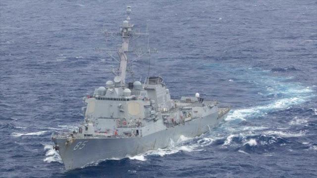 EEUU irrita a China enviando buques al estrecho de Taiwán