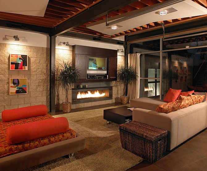 Luxury life design live like a mad men - Interior design ideas for row houses ...