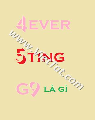 g9 5ting 4ever có nghĩa là gì