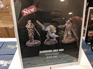 Pistoleros a sueldo Necromunda
