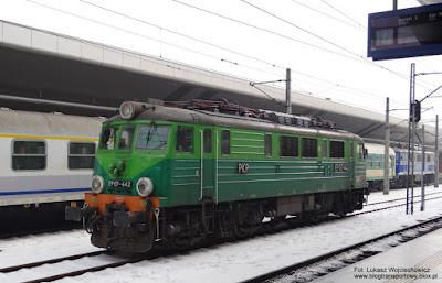 EP07-442, PKP Intercity, Kraków Główny