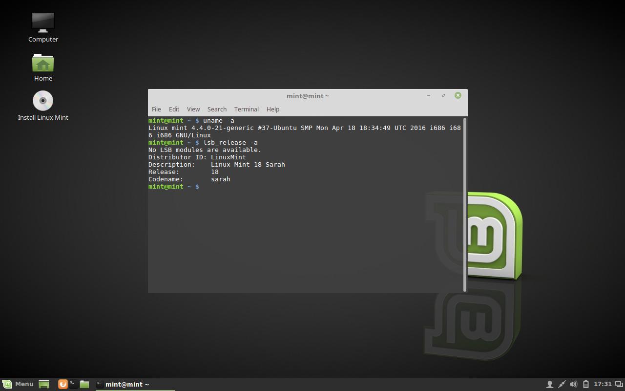 linux mint 18 cinnamon beta screenshots distroscreens