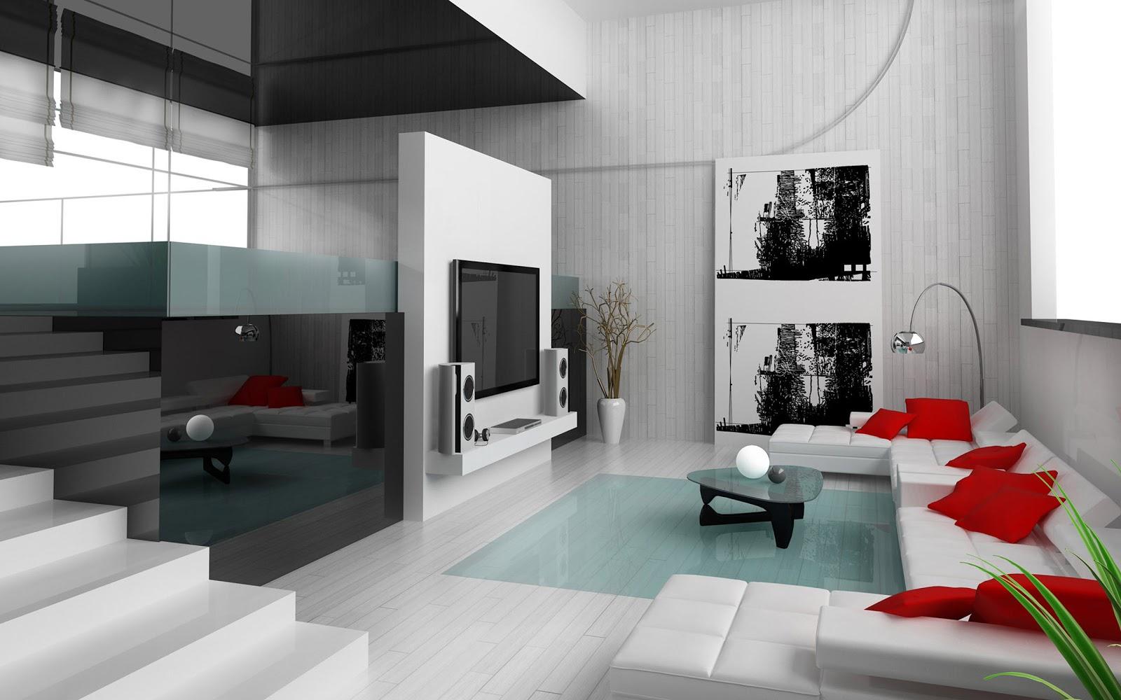 Desain Interior Ruang Tamu Dan Tv