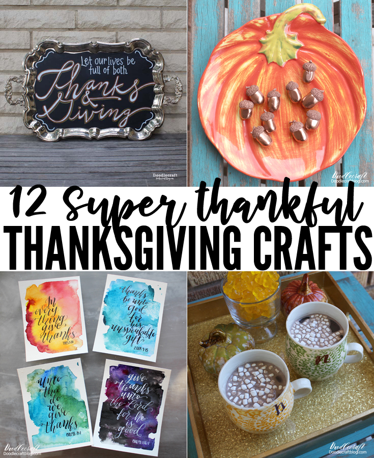 Give thanks before the commercialization of the Christmas holidays with these 12 thanksgiving crafts