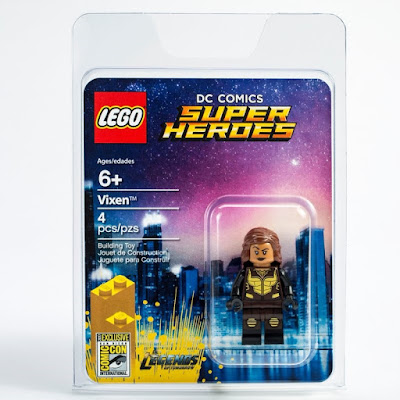 San Diego Comic-Con 2017 Exclusive Legends of Tomorrow Vixen DC Comics LEGO Mini Figure