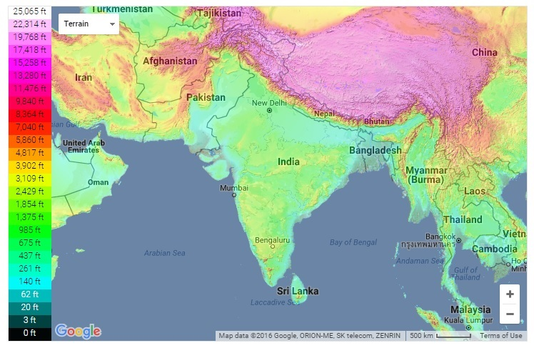 Maps and International Relations: 2016 Phyiso Ancint Map Of India Images on