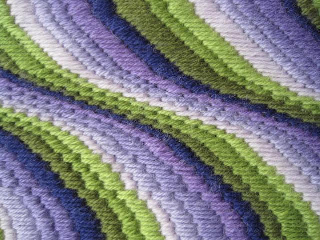 Tina's Allsorts, Lavender Bargello