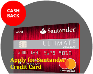 Apply for Santander Credit Card: Cashback Limit on 123 Credit Card