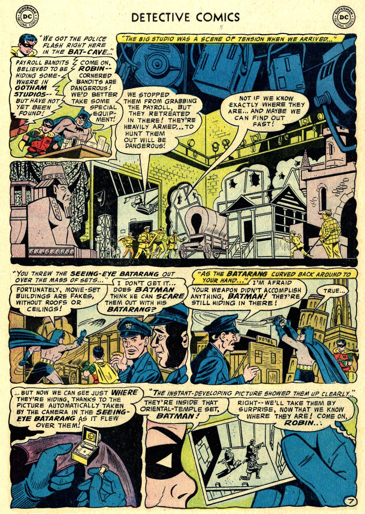 Read online Detective Comics (1937) comic -  Issue #244 - 9