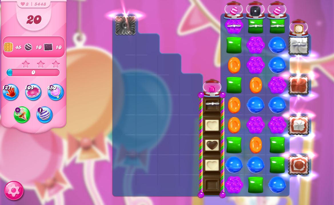 Candy Crush Saga level 5448