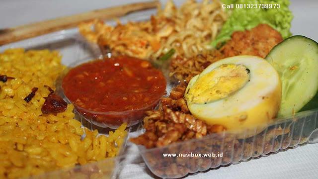 Nasi box telur  special di ciwidey