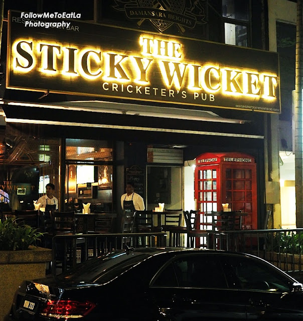 THE STICKY WICKET Cricketer's Pub At Damansara Heights Kuala Lumpur