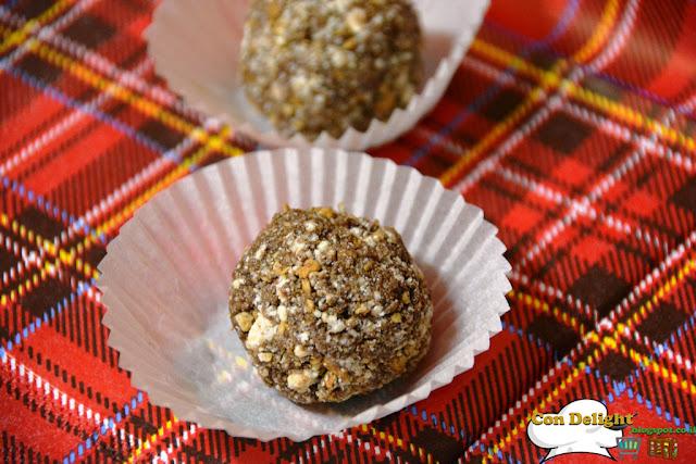 כדורי שוקולד וחלבה Chocolate tahini balls